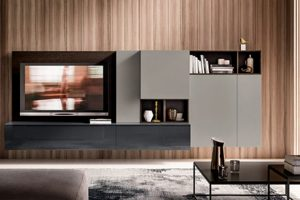 Composiciones de muebles Baigorri para salon