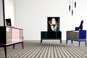Vitrinas salon muebles baigorri
