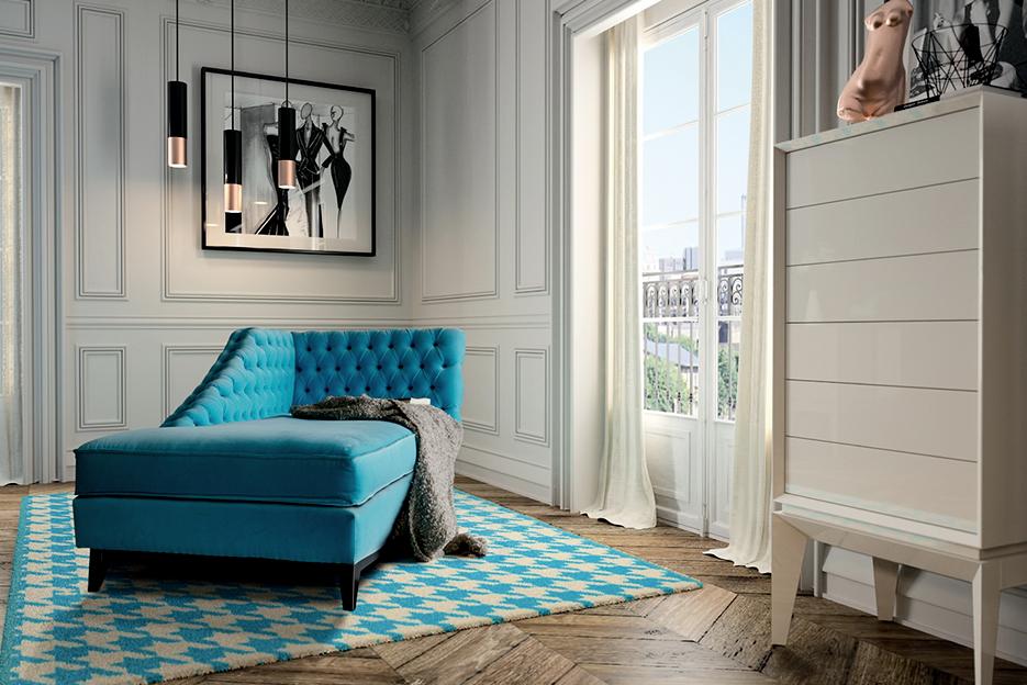 Sofa chesterfield Muebles Baigori